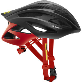 Mavic Cosmic Pro Helmet Herren black/fiery red